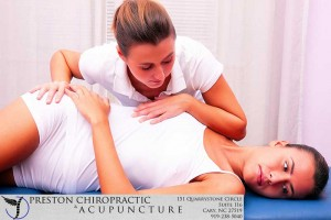 Preston Family Chiropractic and Acupuncture Lumbar Treatment