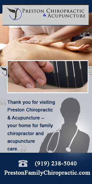 Preston Chiropractic & Acupuncture Cary NC