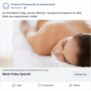 Black Friday Acupuncture Deals, Only $35!